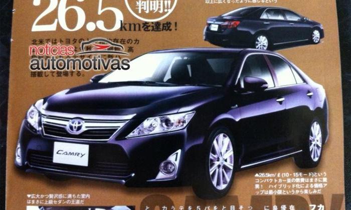 Лучшая Toyota Camry в истории. Новые подробности