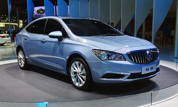 Новый Opel Astra показали на примере Buick Verano