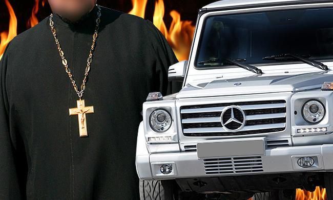 Священник на Mercedes забыл, как сбил людей