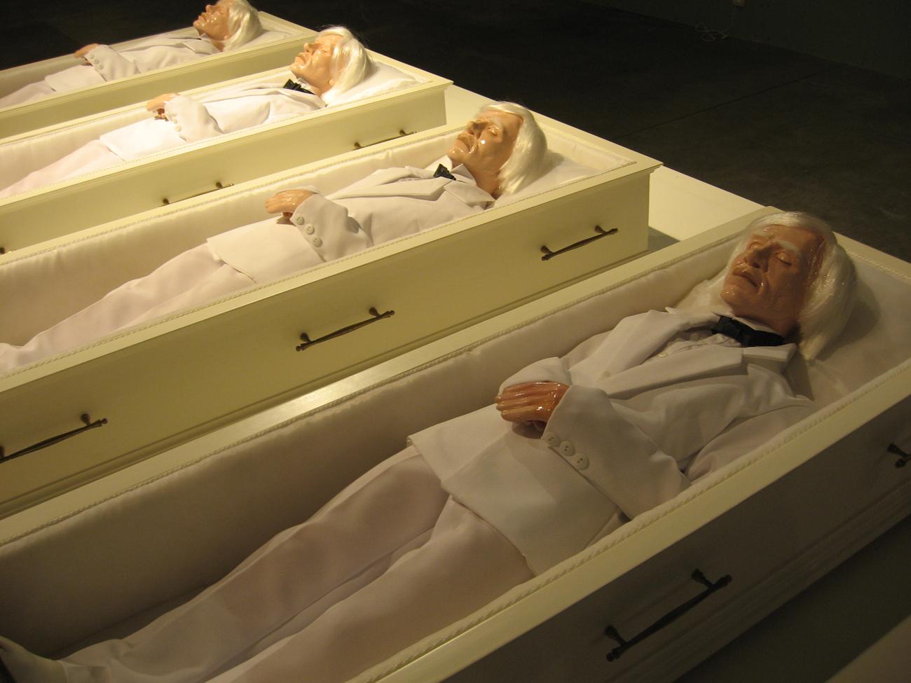 Юрий Шабельников, из проекта «Энди, Энди...», 2006–2007 гг. Выставка номинантов «Премии Кандинского — 2007»