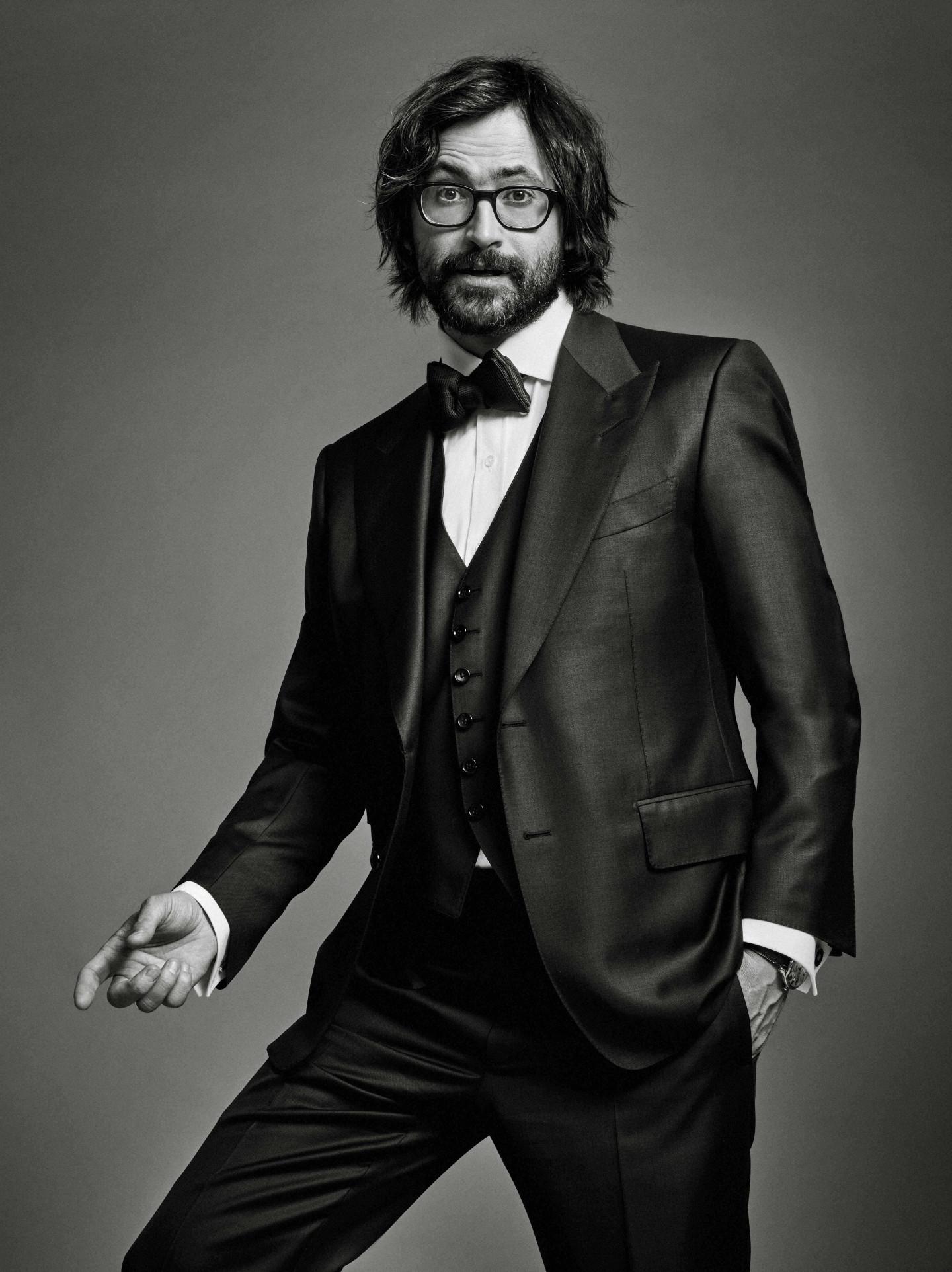 На Дмитрии: костюм-тройка, рубашка - все Tom Ford, запонки Cartier, часы Drive de Cartier