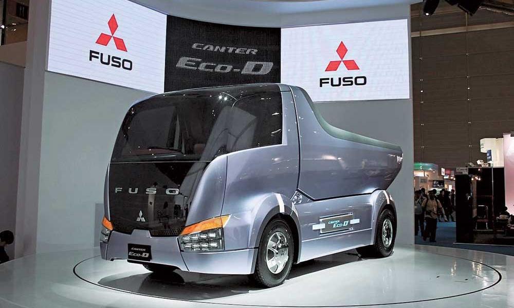 Mitsubishi запустит российские продажи гибридных грузовиков