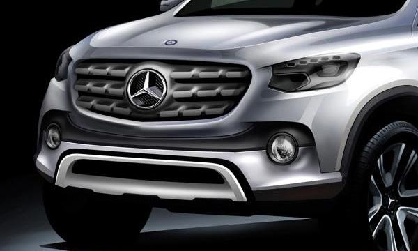 Первый пикап Mercedes построят на базе Nissan Navara