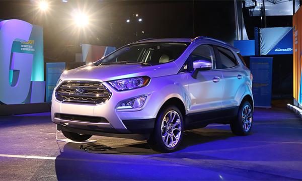 Компания Ford показала EcoSport для американского рынка