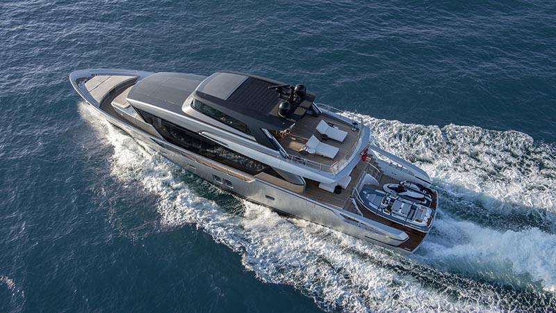 Модель яхты Sanlorenzo SX88