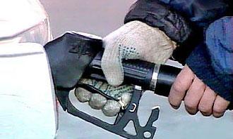 На заправках Москвы кончился бензин