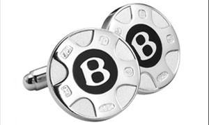 Серебряные запонки Bentley за 280 евро