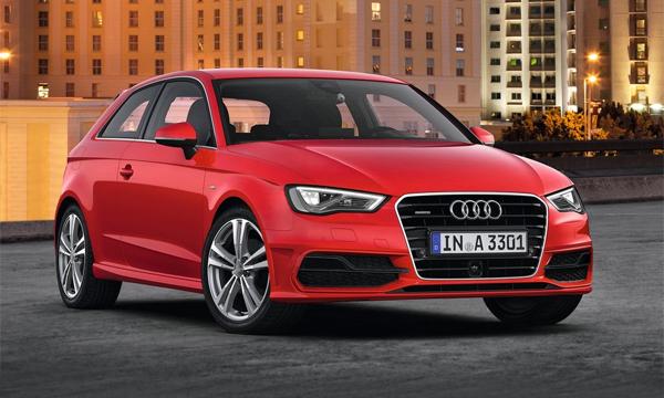 Базовые модели Audi получат трехцилиндровые моторы