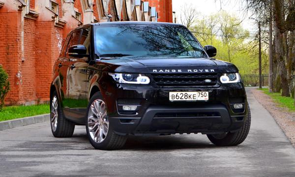 Без повторов. Тест-драйв Range Rover Sport