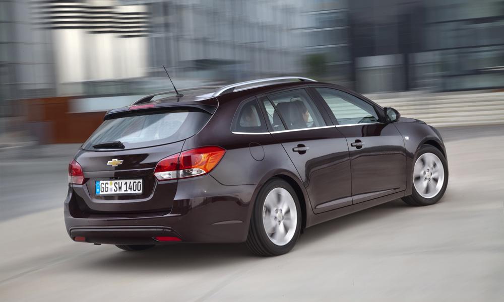 Стали известны цены на Chevrolet Cruze в кузове универсал