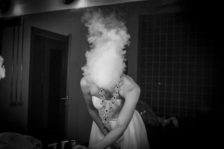 Екатерина Стеблина готовится к выходу на сцену в спектакле Кирилла Серебренникова «Сон в летнюю ночь»