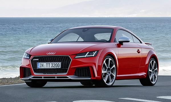 Новая Audi TT RS по динамике приблизилась к суперкару R8