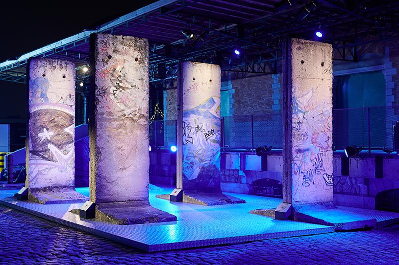 Фрагменты Берлинской стены