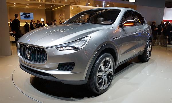 Внедорожник Maserati предложат с тремя моторами