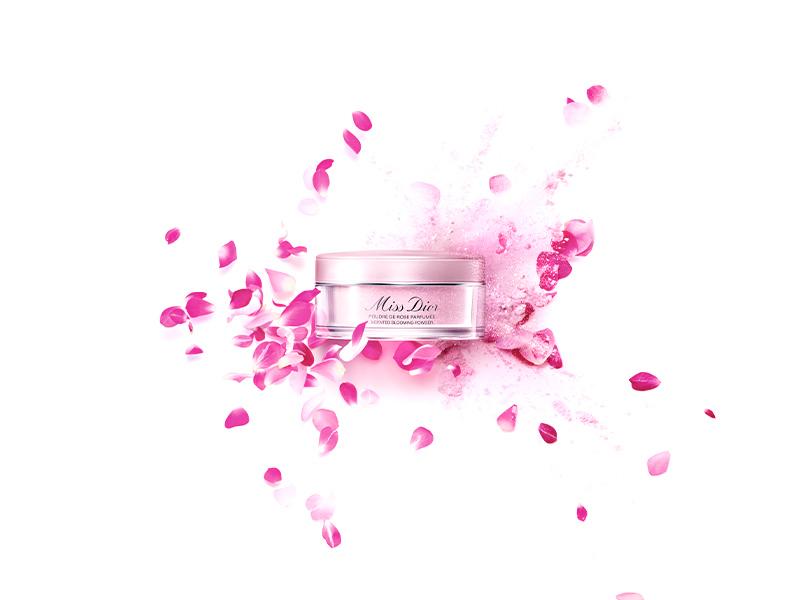 Лимитированная парфюмированная пудра Miss Dior Scented Blooming Powder, Dior