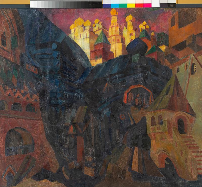 Федор Федоровский, эскиз декорации к опере Модеста Мусоргского «Хованщина»