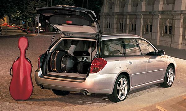 Subaru Legacy Wagon назван лучшим универсалом 2006 года