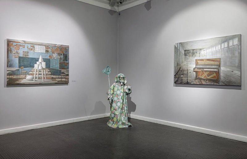 Выставка Марии Сафроновой в галерее «Триумф»