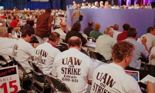 Американский профсоюз рабочих автомобильной промышленности Unites Auto Workers (UAW)