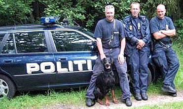 Суровые датские полицейские