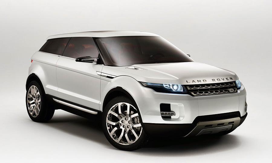 Концепт Land Rover LRX