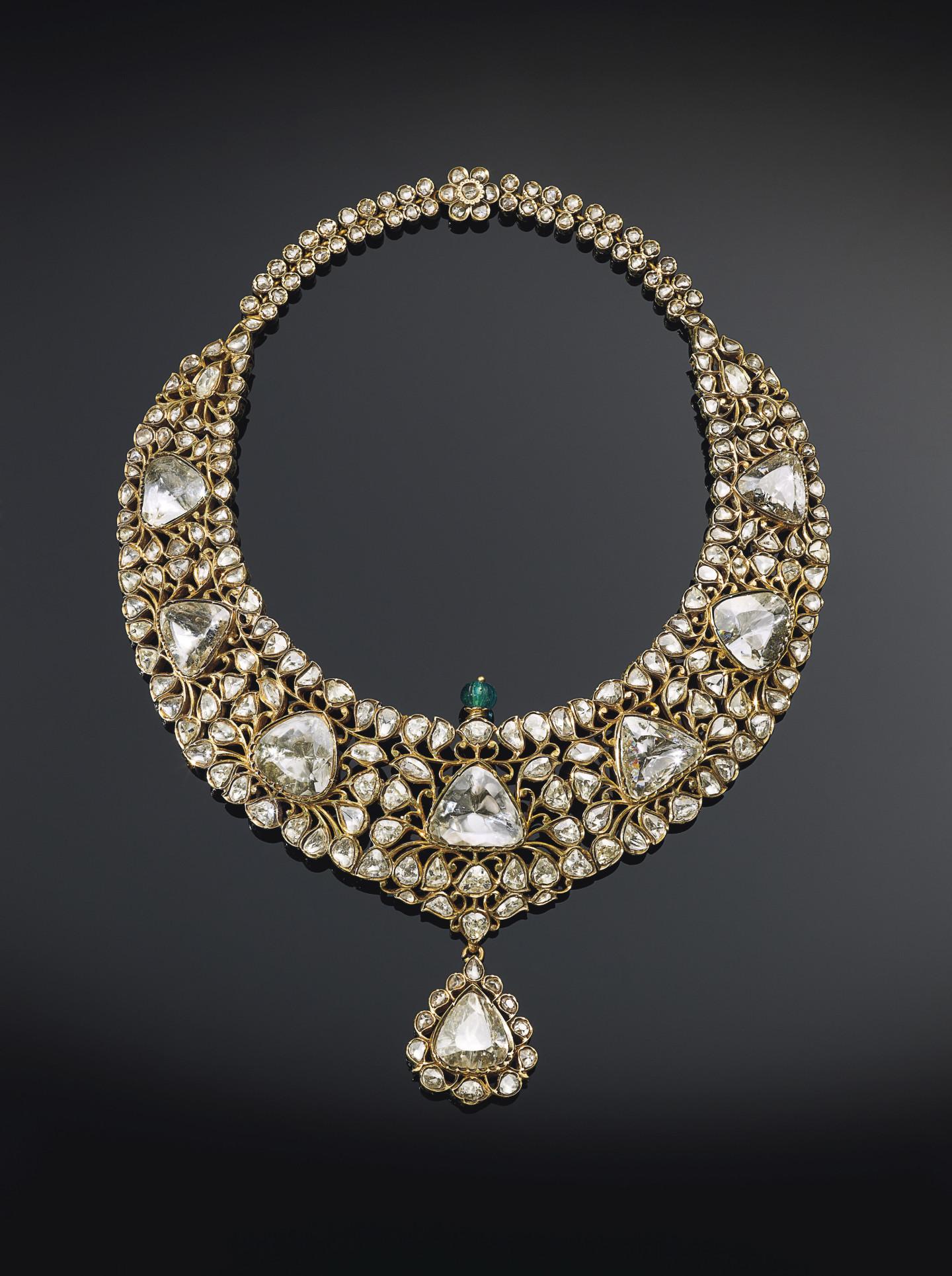 Лот №264, ожерелье «Низам Хайдарабада»