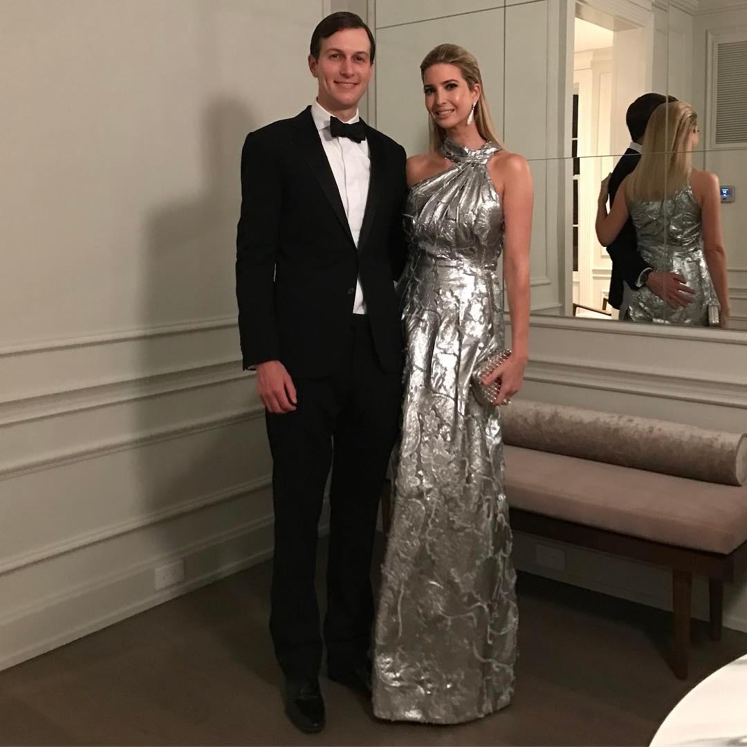 Иванка Трампв платье стоимостью $5 тыс.