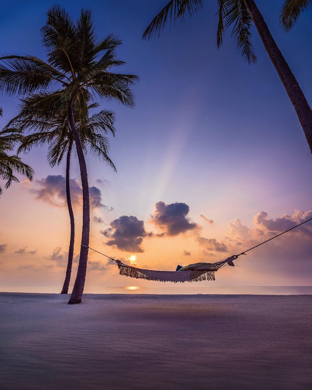 Закат на курорте One&Only Reethi Rah (Мальдивы)