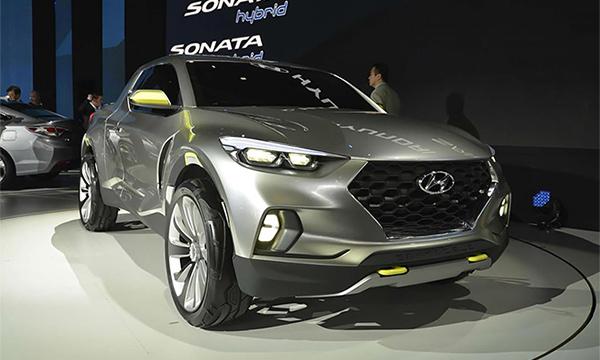 Hyundai показал концепт пикапа для молодежи