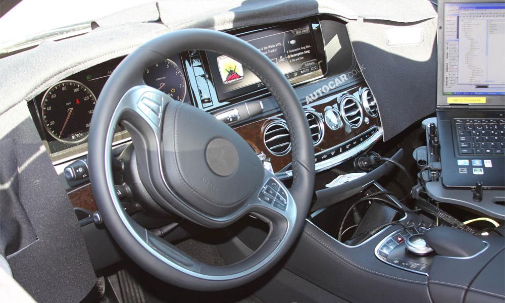 Флагман Mercedes-Benz – взгляд изнутри. ФОТО