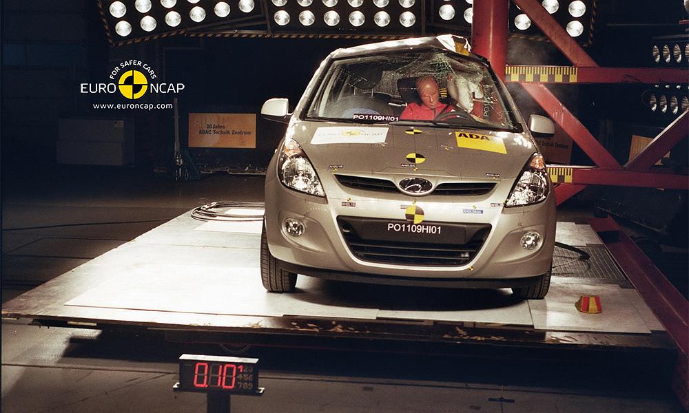 Hyundai i20 получил пять за безопасность