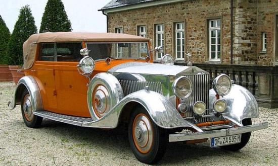 На торги выставлен кабриолет Rolls-Royce Phantom II 40/50 HP Continental 1934 года выпуска, известный под именем Star of India