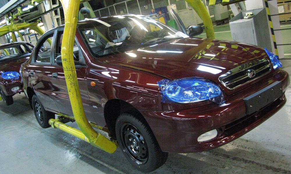 В 2009 году автопром Украины сократил производство на 84%