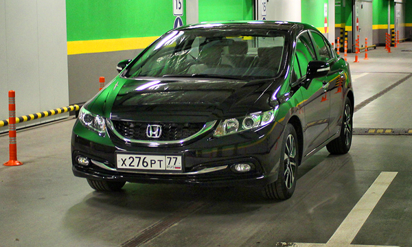 На грани фола. Тест-драйв Honda Civic