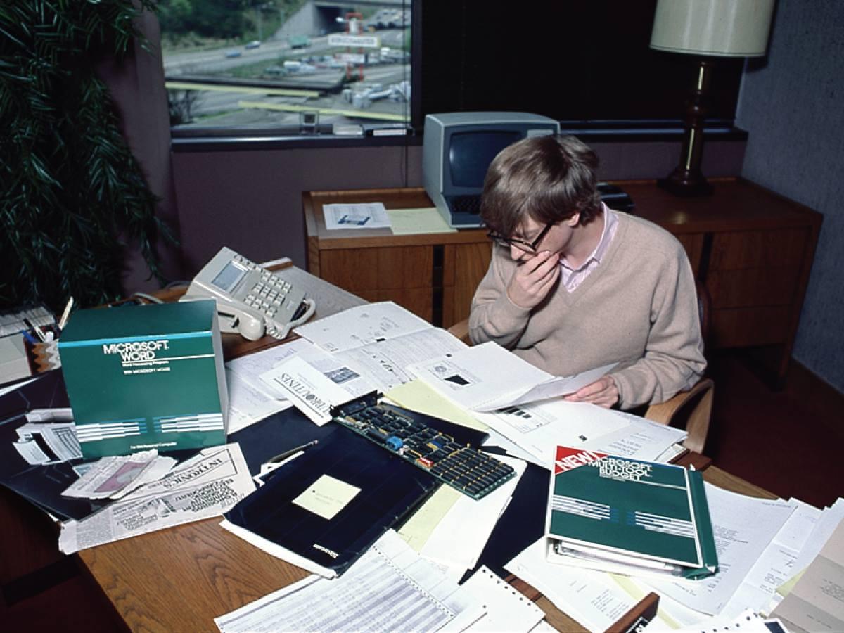 Билл Гейтс, 1980