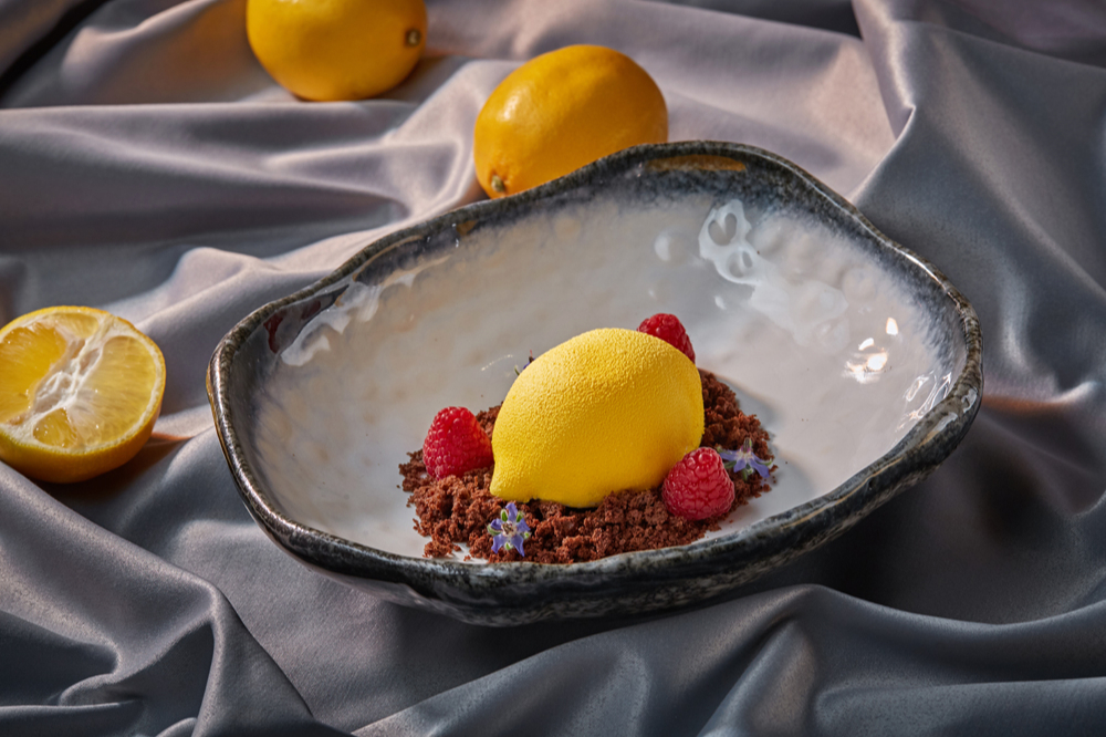 Авторский десерт «Coffee & Lemons»