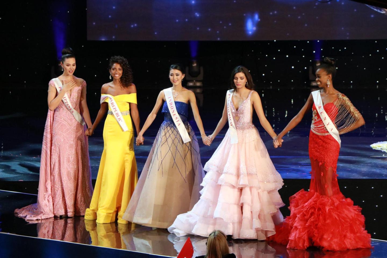Пятерка финалисток конкурса «Мисс мира-2016»