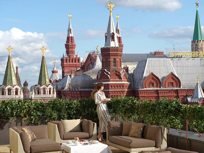 Терраса люкса Four Seasons Hotel Moscow