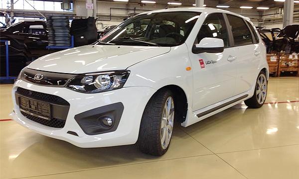 Снимки новой Lada Kalina Sport попали в сеть