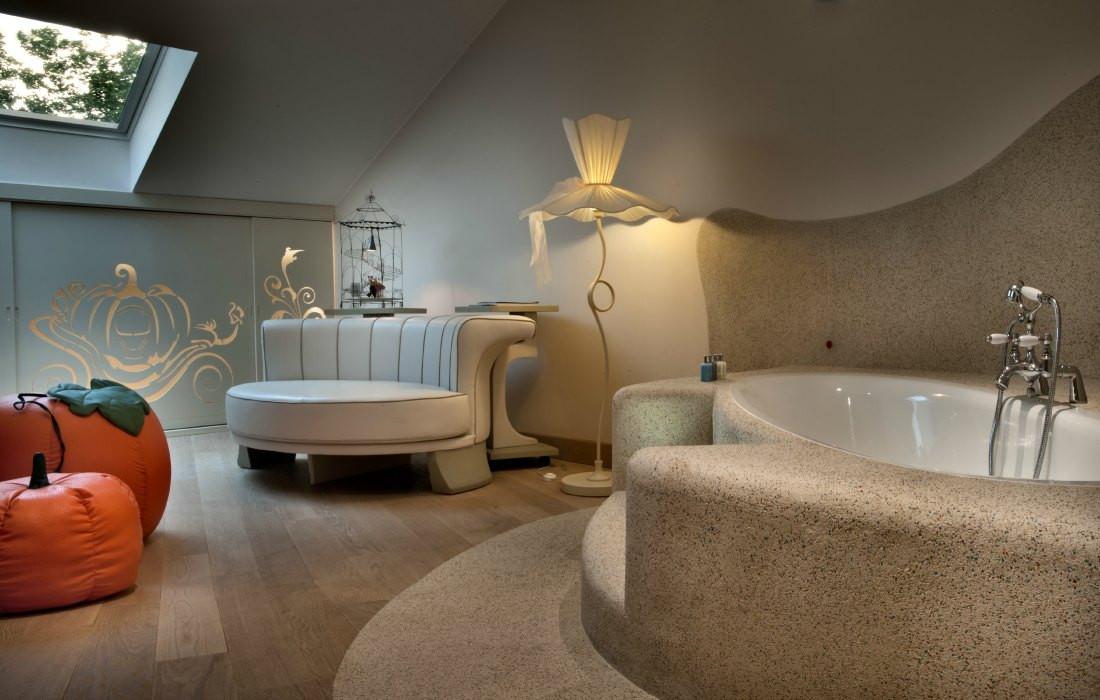 Ванная комната номера «Золушка»