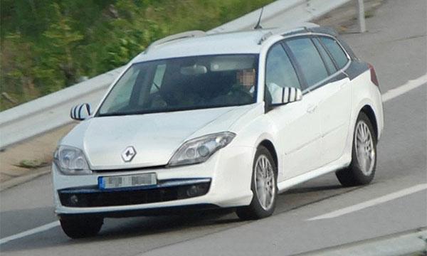 Обнародованы шпионские фото Renault Laguna