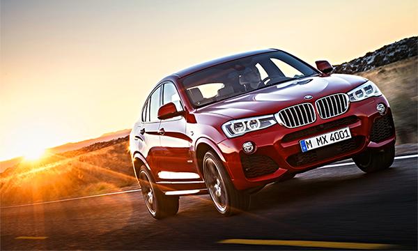 BMW назвала цены на X4 российской сборки