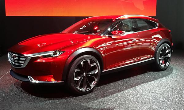 Концепт Mazda Koeru получит серийную версию