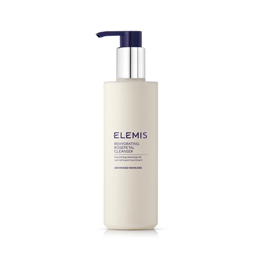 Очищающее молочко для сухой кожи «Розовые лепестки», Elemis