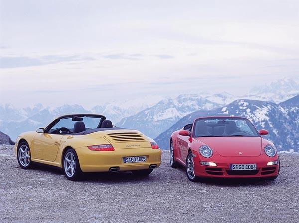 Porsche 911 Carrera 4 и 4S