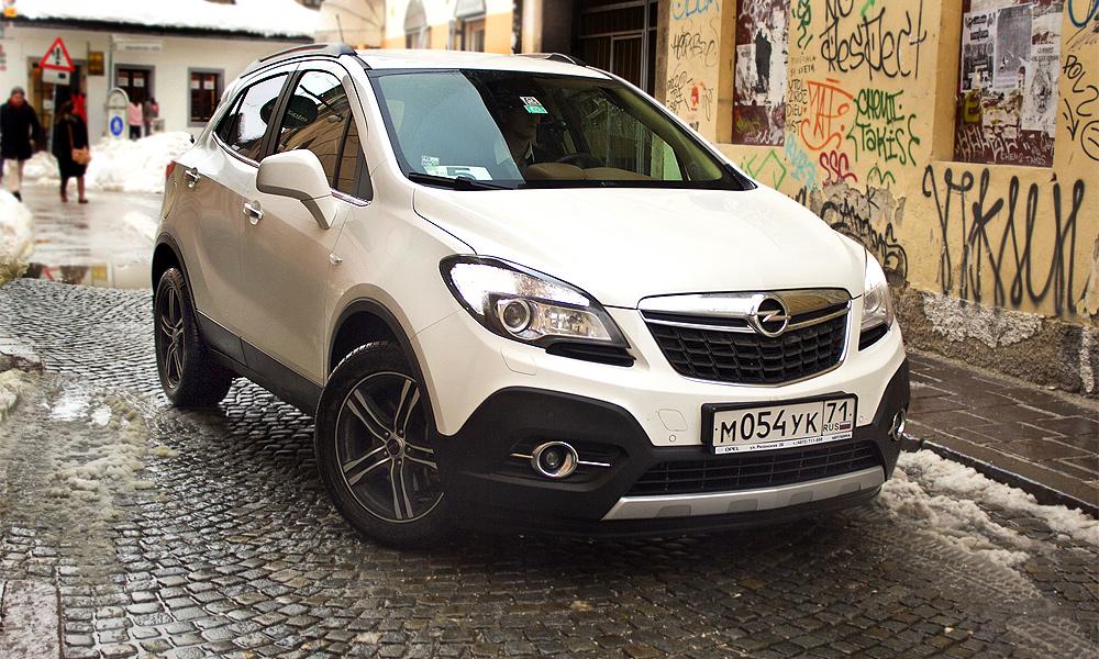Opel Mokka: птицы против свиней