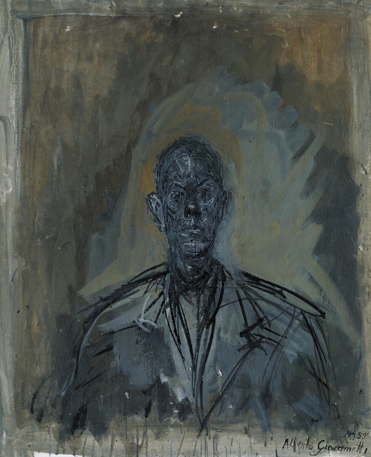 Альберто Джакометти. «Диего», 1959. Из коллекции Tate, Лондон