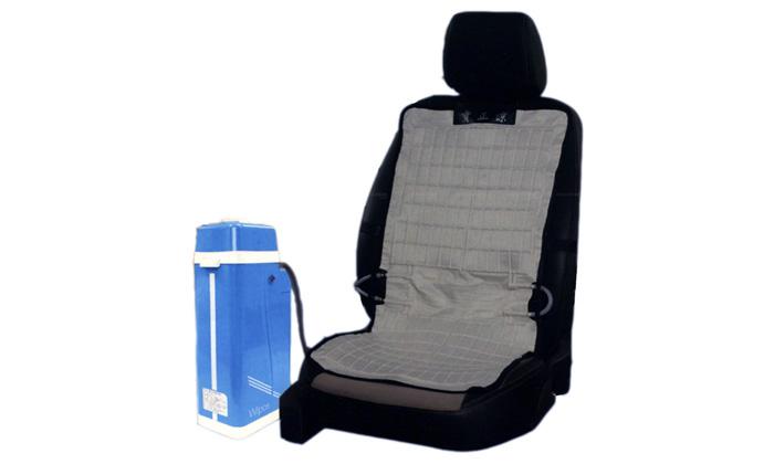 Японцы придумали, как охладить кресла в салоне машины
