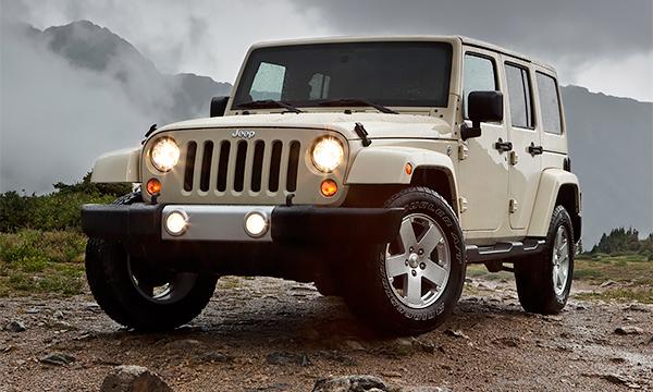 Jeep Wrangler Unlimited назвали худшей машиной года в США