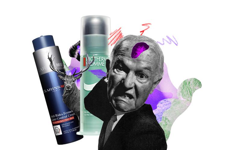 Восстанавливающий и укрепляющий крем против морщин для мужчин Anti-Rides Fermete Line-Control Cream, Clarins Men |Интенсивно увлажняющий крем для лица Aquapower, Biotherm Homme